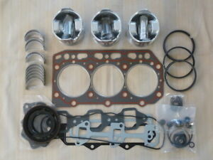 Yanmar 3TN84 3TNV84 3TNE84 3D84 3D84E Rebuild/Overhaul Kit