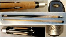 New listing Beautiful GW Ginger Wizard #104 Pool Cue Stick 2 Piece Halex Case Included