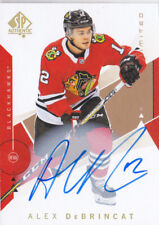 18-19 SP Authentic Alex DeBrincat Auto LIMITED Blackhawks 2018