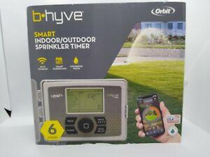 Orbit 57946 B-hyve Smart Indoor/Outdoor 6-Station WiFi Sprinkler System Controll