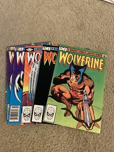 Wolverine Limited Series #1 2 3 4 Wolverine Yukio 🔑 Bronze Age Keys 🔥🗝🔑