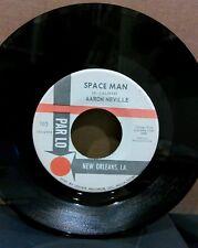 "NEW ORLEANS AARON NEVILLE: SPACEMAN - 45RPM 7"" SINGLE, R&B SOUL"