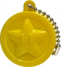 New Super Mario Bros Wii Light Up Collection 2 Star Medal Keychain