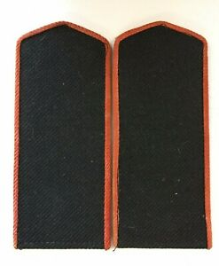 GENUINE WW2 Soviet Russian Red Army Artillery / Armour enlisted shoulder boards