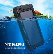 POWER BANK SOLAR WATER 15000mAh USB Batteria Esterna Mobil Caricabatterie Charge