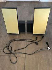 Bang & Olufsen BeoLab 2500 Black/yellow grills- Pair