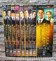 Murdoch Mysteries: Complete Series Seasons 1-12 (DVD) Twelve New! Ships Free!