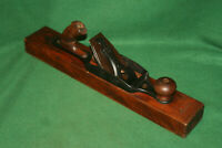 NICE USER Antique Vintage Stanley Rule & Level Transitional Fore Plane Inv#SI29
