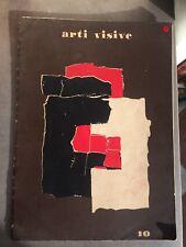 Arti Visive N°10 Rivista della fondazione Origine Abstract Abstrait Art (1954)