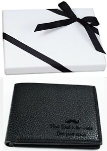 Personalised Wallet for Fathers Day Gift Dad Daddy Uncle Grandad