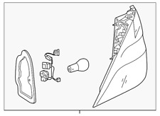 Genuine Mercedes-Benz Tail Lamp Assembly 166-906-35-01