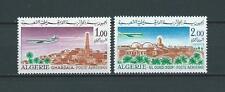 ALGÉRIE - 1967-68 YT 15 à 16 POSTE AERIENNE - TIMBRES NEUFS* charnière