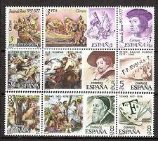 Spain - 1978 Painters / Rubens year - Mi. 2352-60 MNH