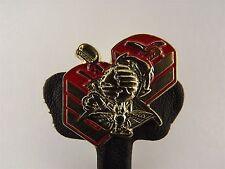 US Marines Corps Logo With Rank Enamel LAPEL / HAT PIN BRAND NEW