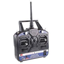 2.4G FS-CT6B 6 CH Radio Model RC Transmitter & Receiver Heli/Airplane/Glid US