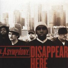 LOT#812  Disappear Here by L.A. Symphony (CD, Oct-2005, Gotee) NEW