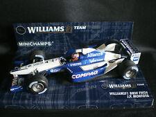 MINICHAMPS 1/43 WILLIAMS F1 BMW FW24 COMPAQ DEL 2002 #6 J. PABLO MONTOYA - NEW