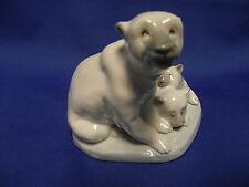Lladro Polar Bears with Cubs Mint 5434