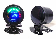 Universal 52mm Digital 3 Bar Boost Gauge Skyline GTST 200sx 240sx Silvia Turbo