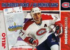 1995-96 Kraft Jell-O Hottest Tickets #14 Pierre Turgeon