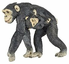 CHIMP & BABY Replica # 50194 ~ New for 2016! FREE SHIP/USA w/ $25.+ Papo Product