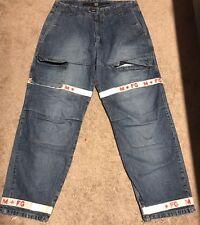 Vintage Marithe Francois Girbaud Denim Jeans 36X33 90s Urban Designer Fashion Ra