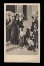 """santino-holy card""""SS.VINCENZO DE PAOLI E LUISA DE MARILLAC"""
