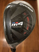 TaylorMade M4 3 Hybrid Rescue 19 Degree Extra Stiff Left Hand W/ Head Cover