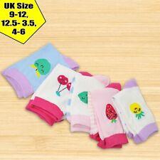 Socksology® 5/10Pair Kids Girls Cotton Rich Socks Casual Children Multi Design
