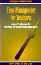 Time Management for Teachers: A Practical Guide to Effective-ExLibrary