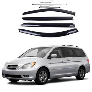 Fits for Honda Odyssey 0510 Side Window Vent Visor Sun Rain Deflector Guard