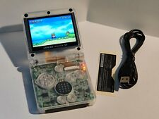 Game Boy Advance SP Clear, FP-IPS v2, Power Clean Mod