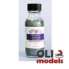 DARK ALUMINUM LACQUER 1oz Bottle - ALCLAD II LACQUER 103