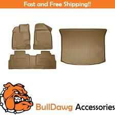 Husky Weatherbeater Floor Mat/Cargo Liner Bundle for Ford Edge/Lincoln MKX