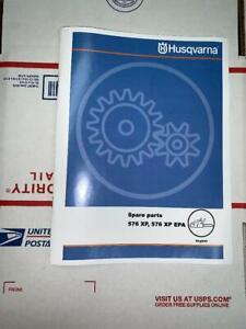 Husqvarna 576 XP 576XP AT XP/G Chainsaw Illustrated Parts Manual
