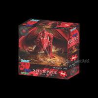 *DRAGON'S LAIR* Anne Stokes 150 Piece Jigsaw With 3D Effect Artwork (46x31cm)