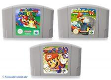 N64 / Nintendo 64 Spiel - Super Mario 64 + Mario Kart 64 + Mario Party 1 Modul