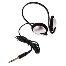 Headphones for Keyboard Digital piano 6.3mm Plug 1.5m Cable