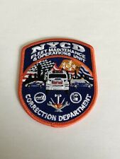 New York City Correction Department Fleet Maintenance And Operations Unit Patch.