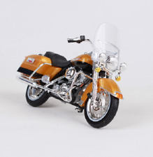 Maisto 1:18 Harley Davidson 1999 FLHR Road King MOTORCYCLE BIKE Model Orange NIB