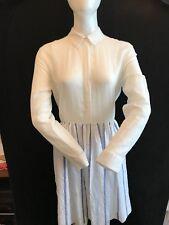 BNWT SANDRO PARIS Pretty 100% Cotton Light  Cool Summer Dress Size 3 (see below)