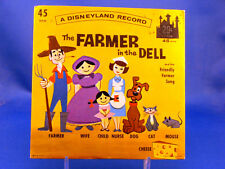 The Farmer In The Dell - NEAR MINT 1962 DISNEYLAND LG-746 with PICTURE SLEEVE