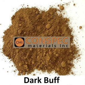 DARK BUFF Concrete Color Pigment Dye Colorant Cement Mortar Grout Plaster 1 LB