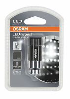 IL205 OSRAM LED 7500K Flashlight 15 Black Rechargeable LED Inspection Mini Torch