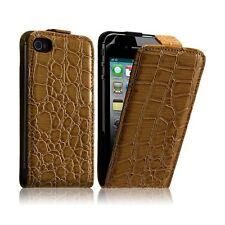 Housse étui coque style crocodile pour Apple Iphone 4/4S