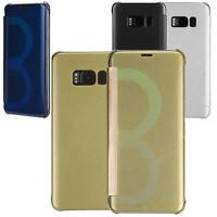 Coque Flip Cover Samsung Galaxy S8 Etui Rigide Housse Portefeuille Lincivius®