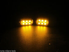 YELLOW 5050 SMD LED 4 PODS  & CONTROLLER & 4 KEY REMOTE FITS ALL VEHICLES