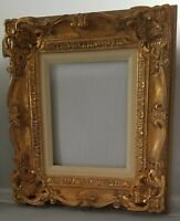 Guillemin Hand Crafted Wood Picture/Art Frame French Provincial Gold 8 x 10 In.