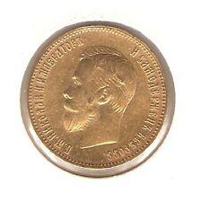 1902 (AP) RUSSIA GOLD Coin 10 ROUBLES - Nicholas II - KM# 64