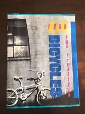 Collectable 1988 GT Performer Mach 1Freestyle & BMX bicycle, product catalog